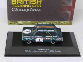 Sunbeam  - Imp 1972 blue/green - 1:43 - Magazine Models - 4672107 - magBT4672107 | Tom's Modelauto's