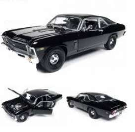 Chevrolet  - Yenko Nova 1969 black - 1:18 - Auto World - AMM1178 - AMM1178 | Tom's Modelauto's