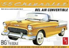 Chevrolet  - Bel Air Convertible 1955  - 1:16 - AMT - s1134 - amts1134 | Tom's Modelauto's