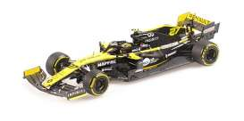 Renault  - R.S. 19 2019 yellow/black - 1:43 - Minichamps - 417190027 - mc417190027 | Toms Modelautos