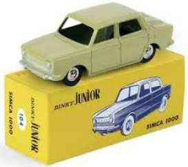 Simca  - 1000 creme-yellow - 1:43 - Magazine Models - 1083164 - magDT1083164 | Tom's Modelauto's