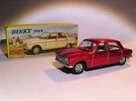 Peugeot  - 204 Berline red - 1:43 - Magazine Models - 2267002 - magDT2267002 | Tom's Modelauto's
