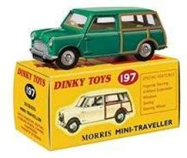 Morris  - Mini green - 1:43 - Magazine Models - 4659101 - magDT4659101 | Toms Modelautos