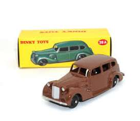 Packard  - Eight Sedan brown - 1:43 - Magazine Models - 4659105 - magDT4659105bn | Toms Modelautos