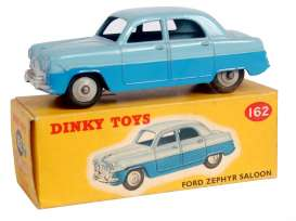 Ford  - Zephyr blue - 1:43 - Magazine Models - 4659109 - magDT4659109 | Tom's Modelauto's