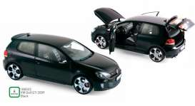 Volkswagen  - Golf GTi 2009 black - 1:18 - Norev - 188502 - nor188502 | Toms Modelautos