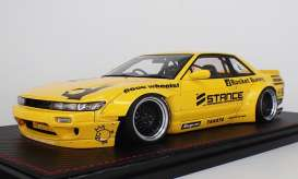 Rocket  - Bunny S13 V2 yellow - 1:18 - Ignition - IG1135 - IG1135 | Toms Modelautos