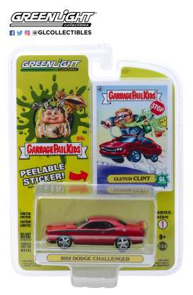 Dodge  - Challenger red - 1:64 - GreenLight - 54010F - gl54010F | Tom's Modelauto's