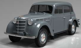 Moskvitch  - 400-420 1946 grey - 1:18 - KK - Scale - 180254 - kkdc180254 | Toms Modelautos