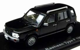 Nissan  - Rasheen Type II 1995 black - 1:43 - Norev - 420164 - nor420164 | Tom's Modelauto's