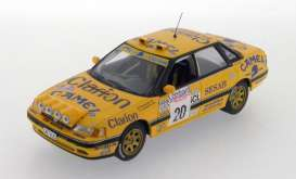 Subaru  - Legacy RS #20 1992 yellow - 1:43 - IXO Models - KB1024 - ixKB1024 | Tom's Modelauto's