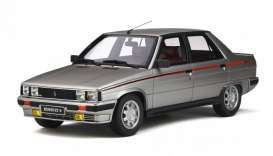 Renault  - 9 Turbo 1984 silver - 1:18 - OttOmobile Miniatures - ot540 - otto540 | Tom's Modelauto's
