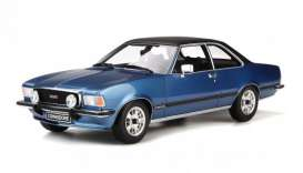 Opel  - Commodore 1977 blue - 1:18 - OttOmobile Miniatures - ot668 - otto668 | Tom's Modelauto's