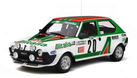 Fiat  - Abarth  1979 white/green/red - 1:18 - OttOmobile Miniatures - ot294 - otto294 | Tom's Modelauto's