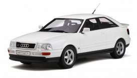 Audi  - S2 1991 white - 1:18 - OttOmobile Miniatures - 288 - otto288 | Tom's Modelauto's