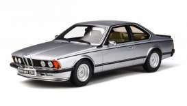 BMW  - (E24) 635 1982 silver - 1:18 - OttOmobile Miniatures - 313 - otto313 | Tom's Modelauto's