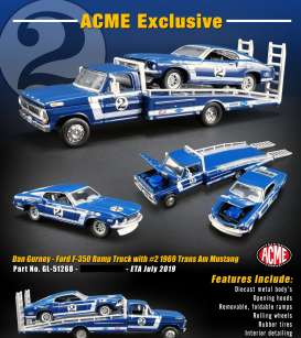 Ford  - Ramp Truck various - 1:64 - Acme Diecast - 51268 - acme51268 | Toms Modelautos