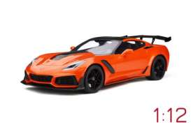 Chevrolet  - Corvette C7 ZR1 2018 orange - 1:12 - GT Spirit - 246 - GT246 | Tom's Modelauto's