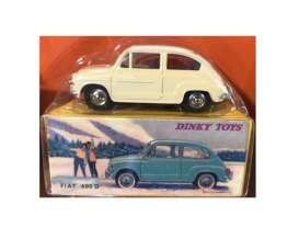 Fiat  - 600D white - 1:43 - Magazine Models - magDTfiat600 | Tom's Modelauto's