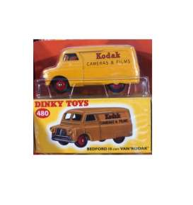 Bedford  - 10 cwt *Kodak* orange - 1:43 - Magazine Models - magDTbedford | Tom's Modelauto's