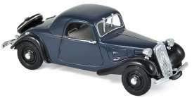 Citroen  - Traction 7C 1937 dark blue - 1:43 - Norev - 153029 - nor153029 | Tom's Modelauto's