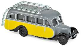 Citroen  - U23 1947 yellow/grey - 1:87 - Norev - 159925 - nor159925 | Toms Modelautos