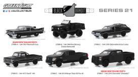 Assortment/ Mix  - black - 1:64 - GreenLight - 27990 - gl27990 | Tom's Modelauto's