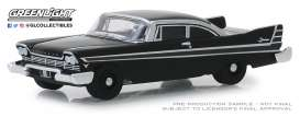 Plymouth  - Fury 1957 black - 1:64 - GreenLight - 27990A - gl27990A | Tom's Modelauto's