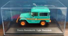 Toyota  - Bandeirante green/orange - 1:43 - Magazine Models - magVSB12 | Tom's Modelauto's