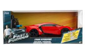 Lykan  - Hypersport *Radio Control* 2015 red - 1:24 - Jada Toys - 98552 - jada98552 | Tom's Modelauto's