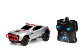 F&F Rally Fighter  - *Radio Control* 1970 silver/red - 1:24 - Jada Toys - 98311 - jada98311 | Tom's Modelauto's