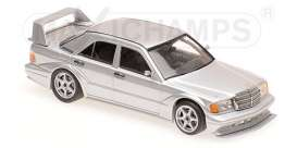 Mercedes Benz  - 190E 2.5-16 EVO2 1990 silver - 1:43 - Maxichamps - 940923401 - mc940923401 | Tom's Modelauto's