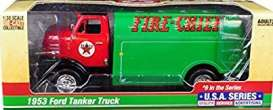 Ford  - Tanker  1957 green/red - 1:25 - Auto World - CP7520 - AWCP7520 | Toms Modelautos