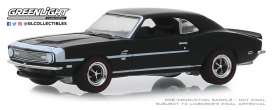Chevrolet  - COPO Camaro 1968 black - 1:64 - GreenLight - 13250A - gl13250A | Tom's Modelauto's