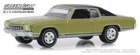Mercury  - Cougar 1971 green - 1:64 - GreenLight - 13250D - gl13250D | Tom's Modelauto's