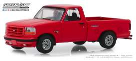 Ford  - F-150 1993 red - 1:64 - GreenLight - 13250E - gl13250E | Tom's Modelauto's