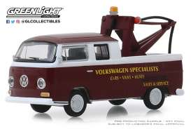 Volkswagen  - Type 2 1968 burgundy - 1:64 - GreenLight - 35140A - gl35140A | Tom's Modelauto's