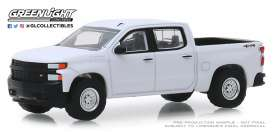 Chevrolet  - Silverado 2019 white - 1:64 - GreenLight - 35140F - gl35140F | Tom's Modelauto's