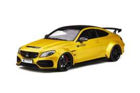 Mercedes Benz  - C-Class 63 AMG yellow - 1:18 - GT Spirit - GT235 - GT235 | Tom's Modelauto's