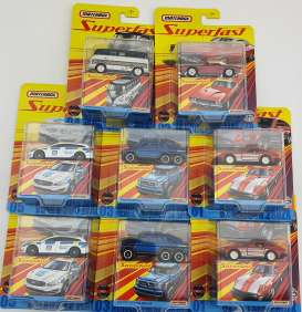 Assortment/ Mix  - various - 1:64 - Matchbox - GBJ48 - matGBJ48-HF2Fa | Toms Modelautos