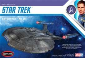 Star Trek  - NX-01 Enterprise  - 1:1000 - Polar Lights - POL0966 - plls0966 | Toms Modelautos