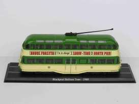 Blackpool   - Balloon Tram 1960 green/creme - 1:72 - Magazine Models - 4648101 - magBUS4648101 | Tom's Modelauto's