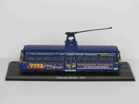 Brush  - Railcoach 1937 blue - 1:72 - Magazine Models - 4648103 - magBUS4648103 | Toms Modelautos