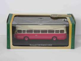 Renault  - S45 R4210 1953 red/white - 1:72 - Magazine Models - 7163135 - magBUS7163135 | Tom's Modelauto's