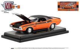 Dodge  - Challenger 1970 orange/ - 1:24 - M2 Machines - 40300-69B - M2-40300-69B | Tom's Modelauto's