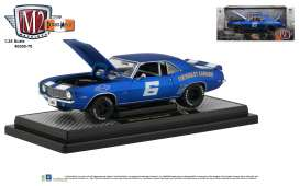 Chevrolet  - Camaro Z/28 1969 blue - 1:24 - M2 Machines - 40300-70A - M2-40300-70A | Toms Modelautos