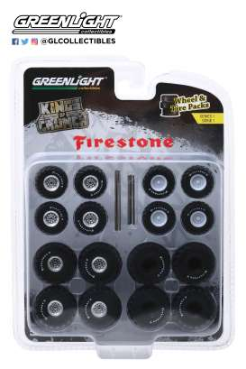 Wheels & tires Rims & tires - 1:64 - GreenLight - 16010A - gl16010A | Toms Modelautos