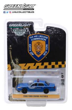 Ford  - Crown Victoria 2011 blue - 1:64 - GreenLight - 30092 - gl30092 | Toms Modelautos