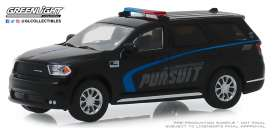 Dodge  - Durango 2019 black/blue - 1:64 - GreenLight - 30098 - gl30098 | Tom's Modelauto's