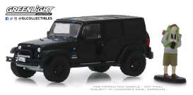 Jeep  - Wrangler 2012 black - 1:64 - GreenLight - 97070F - gl97070F | Tom's Modelauto's